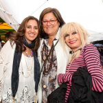 Amrita Singh, Fern Mallis and Betsey Johnson