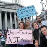 Juilliard Demonstrators in Occupy Wall Street March
