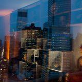 NY Lights; Mid-town; New York City; 2012