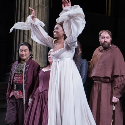 Pretty Yende in Romeo and Juliet at Metropolitan Opera House