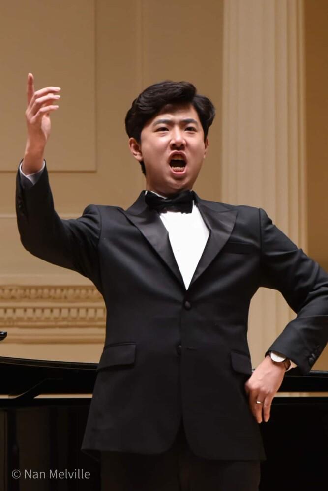 Singer, Kyungduk Kim in Carolyn Oh, Concert Artists International Winners Concert 2018, Weill Recital Hall, Carnegie Hall