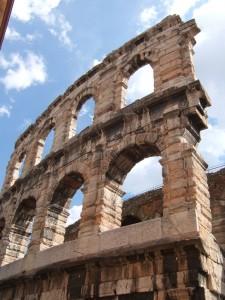 Arena, Roman amphitheatre, Verona, Italy, 2006