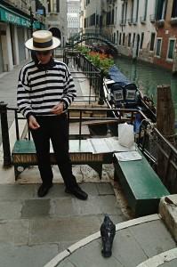 Gondolier, Venice, Italy, 2006