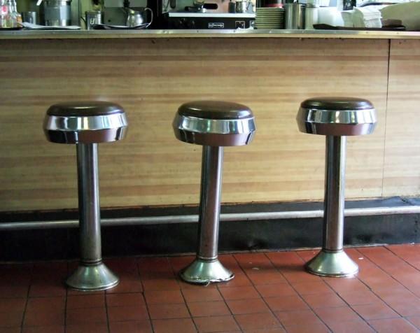 Retro Soda Fountain Stools, La Rosita Restaurant, New York, 2006