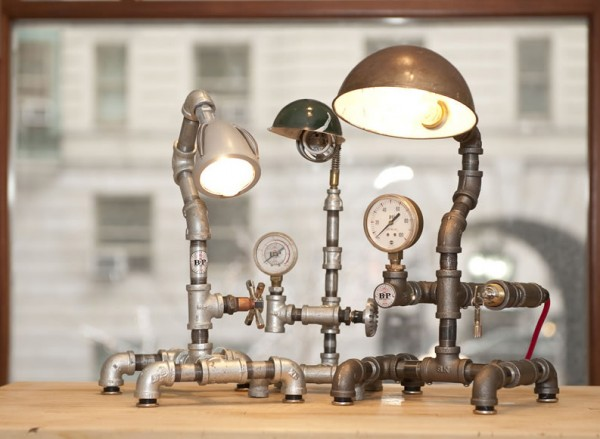 Blake, Lamps, Pipes and Gauges, New York, 2009